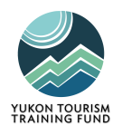 Logo for the funding program of the Tourism Industry Association of Yukon