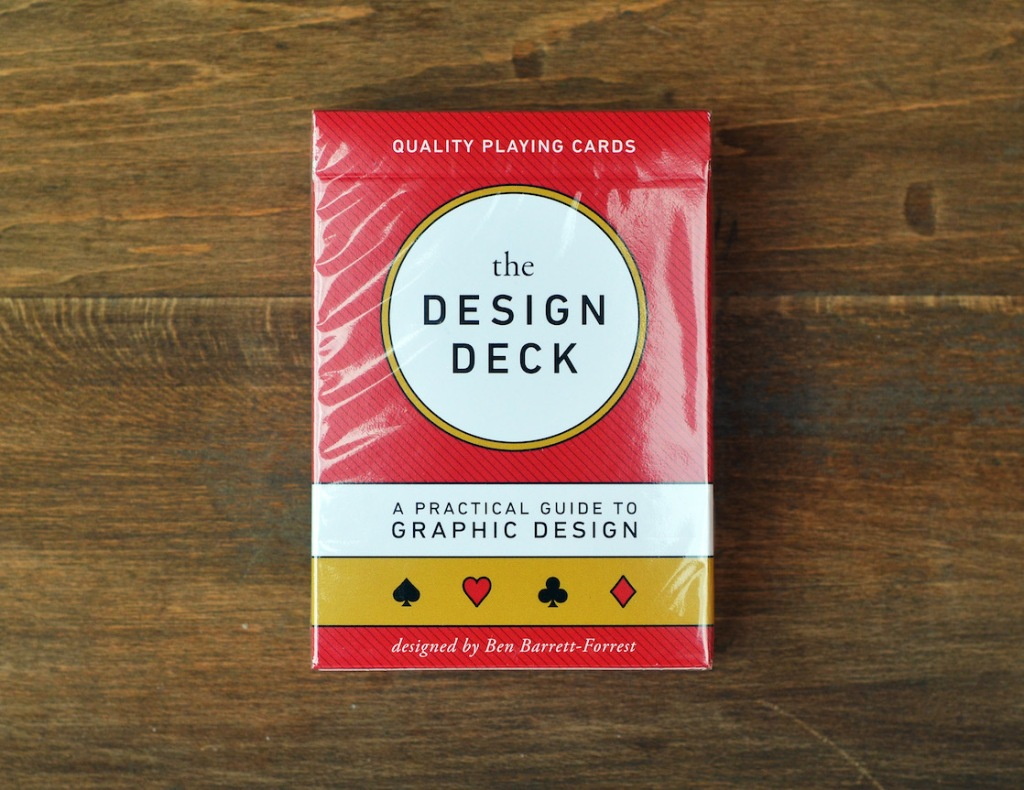 The Design Deck - 8 - FrontWithCellowrap